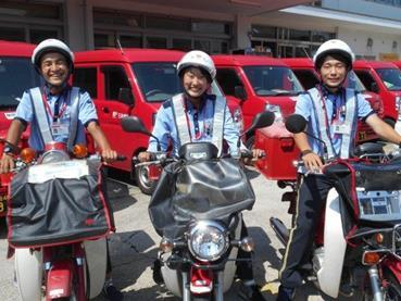 日本郵便株式会社 【長期】バイクによる配達等 求人情報