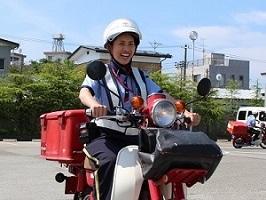 日本郵便株式会社 【長期】【バイクによる配達等】 求人情報